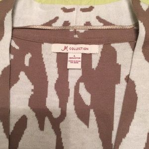 JM Collection Sweaters - Animal print sweater